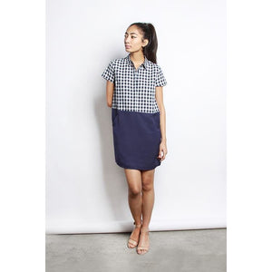 The Navy Kelly Dress - Dress