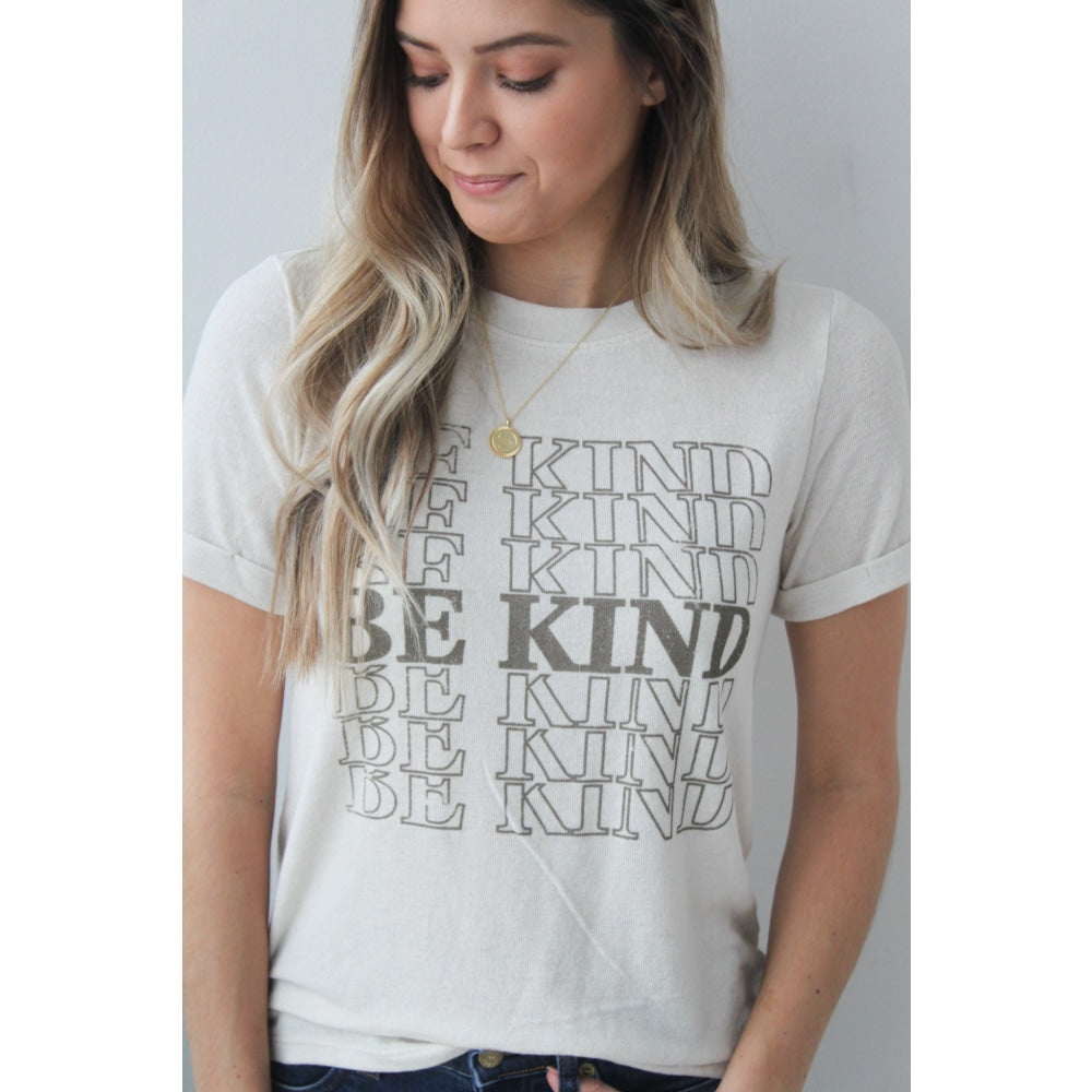 Be Kind Tee - Top