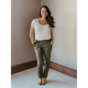 Perfect Olive Pants - Bottoms