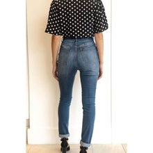 Load image into Gallery viewer, High Waist Bow Skinny Jeans - Bottoms