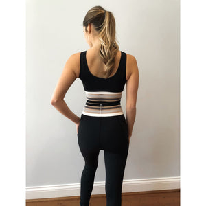 A Stripe Above Leggings - Athleisure