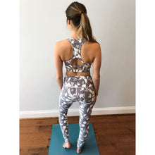 Load image into Gallery viewer, Lavender Bloom Sports Bra - Athleisure