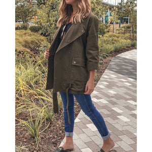 Olive Jacket - Outerwear