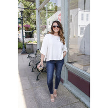 Load image into Gallery viewer, Cream Cropped Knit Top - Top