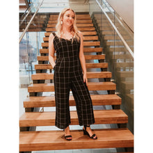 Load image into Gallery viewer, Black Mayfair Jumpsuit - Bottoms