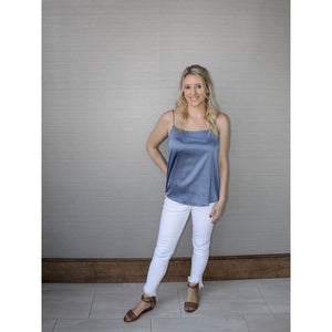 Slate Blue Camisole - Top