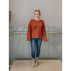 Everly Full Sleeves Top - Top