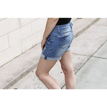 Load image into Gallery viewer, Mid Rise Jean Shorts - Bottoms