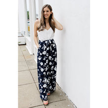 Load image into Gallery viewer, blue and white jumpsuit - Dress