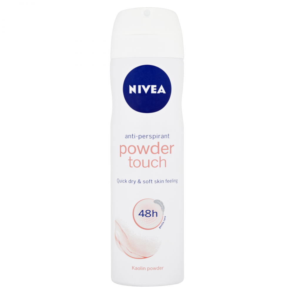 Nivea 48 Hours Anti-Perspirant Spray Powder Touch 150ml