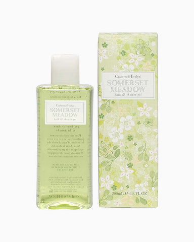 Somerset Meadow Bath and Shower Gel 200ml