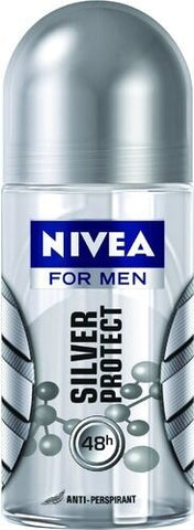 Nivea Deo Roll-On Silver Protect 50 ml 48 Hour