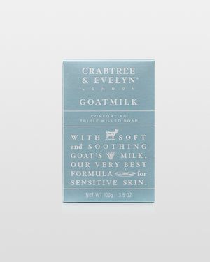 Crabtree & Evelyn Goatmilk Triple Milled Soap 100g