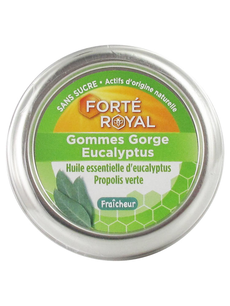 Forté Pharma Forte Royal Eucalyptus Throat Gums 45g