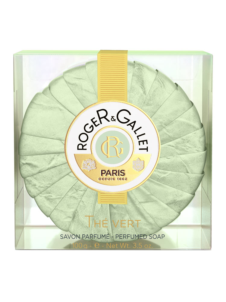 Roger & Gallet Green Tea (The Vert) Perfumed Soap 3.5oz