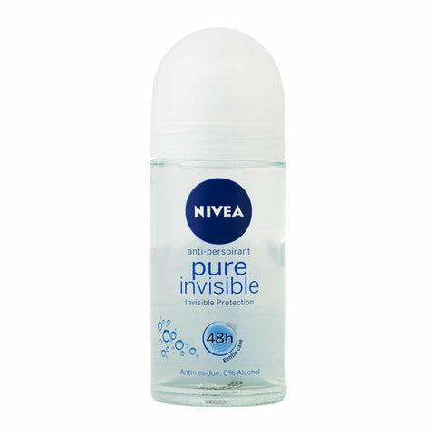 Nivea Pure Invisible 48h Antiperspirant Roll-on Deodorant 50ml