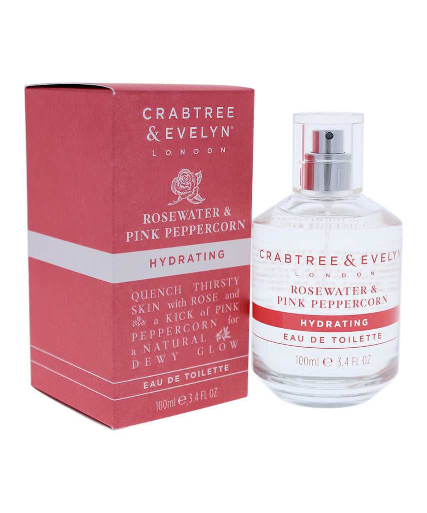 Crabtree & Evelyn Rosewater & Pink Peppercorn EDT 3.4-Oz