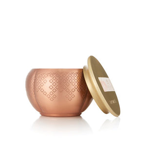 Thymes Heirlum Pumpkin Copper Candle (Select Your Size)