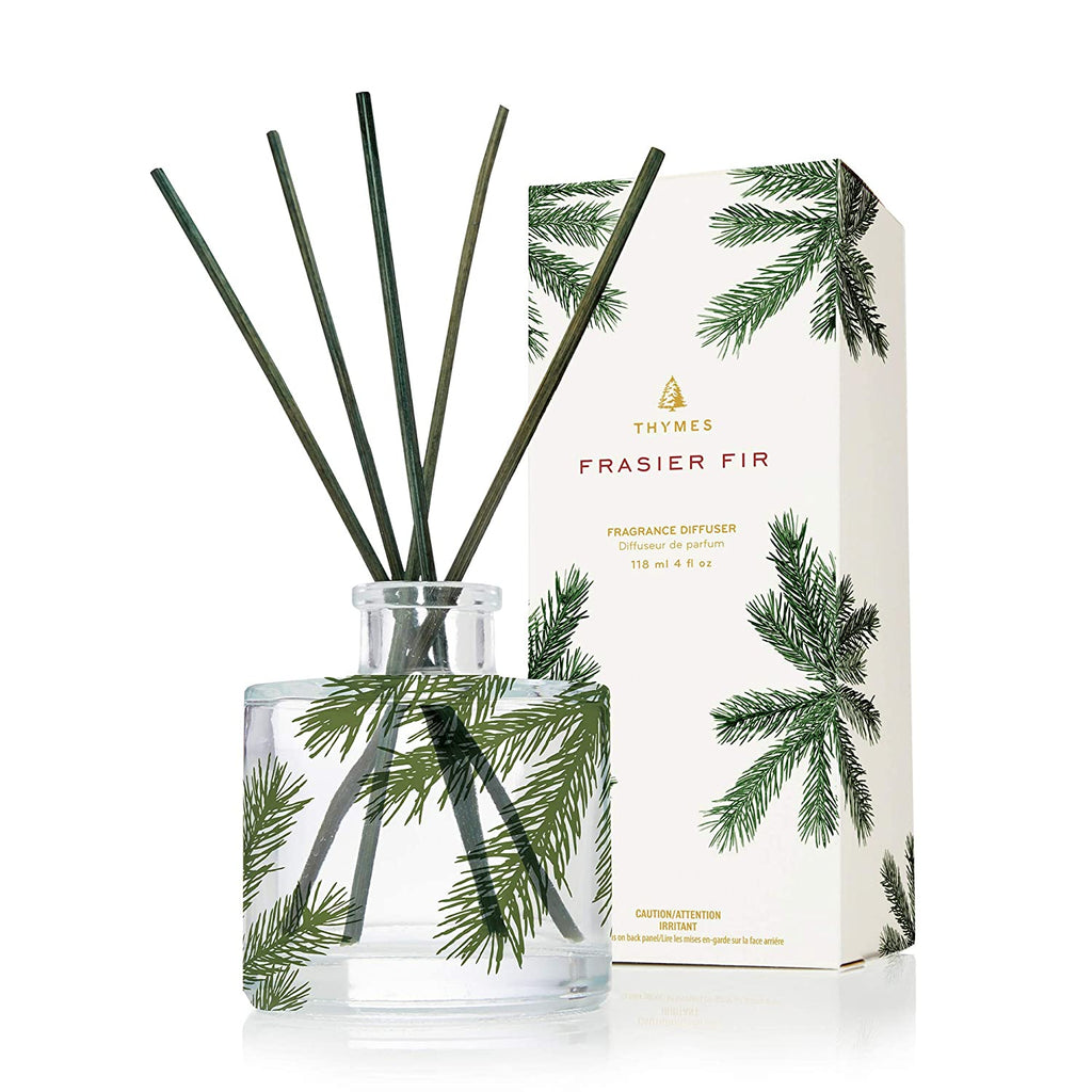 Thymes FRASIER FIR PETITE REED DIFFUSER PINE NEEDLE