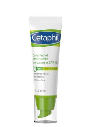 Cetaphil Daily Facial Moisturizer with SPF 50+ 1.7 Fl Oz