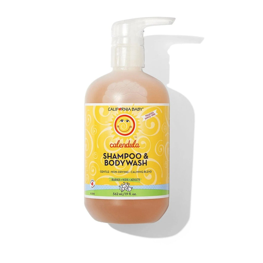 California Baby CALENDULA™  SHAMPOO & BODY WASH , 8.5 OZ