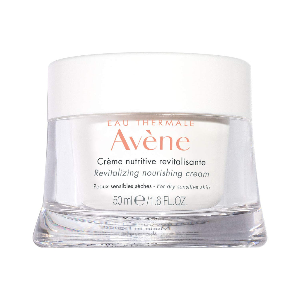 Avène  Revitalizing Nourishing Cream, Ultra Nourishing Face Moisturizer, Non-comedogenic 1.6 fl. oz.