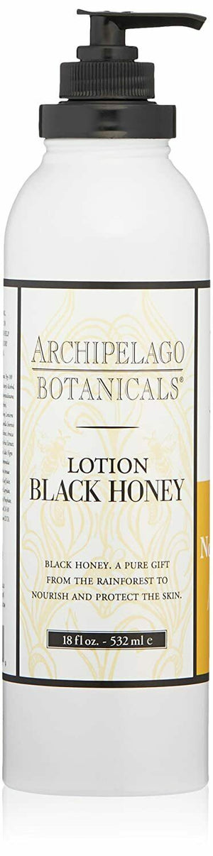 Archipelago Botanicals Black Honey Lotion, 18 Fl Oz