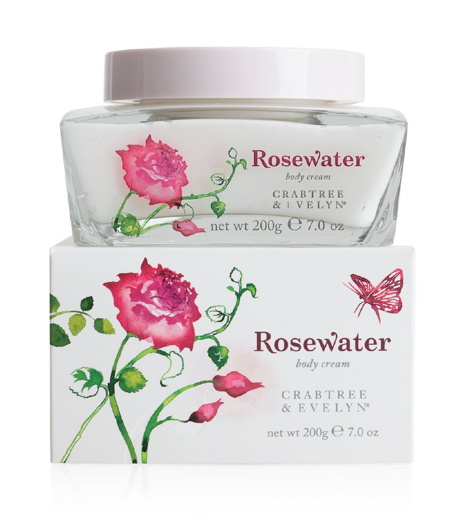 Crabtree & Evelyn Rosewater Body Cream 200g