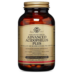 Advanced Acidophilus Plus, 120 Vegetable Capsules