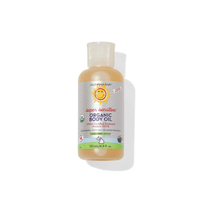 California Baby Super Sensitive™ (Fragrance Free) CERTIFIED ORGANIC BODY OIL By California Baby