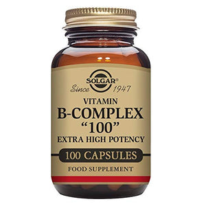 "B-Complex ""100"" Vegetable Capsules, 100 Count"