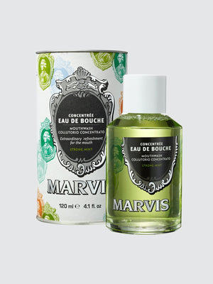 Marvis Strong Mint Mouthwash 4.1 oz.