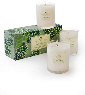 Soap and Paper Factory Roland Pine Votive Trio