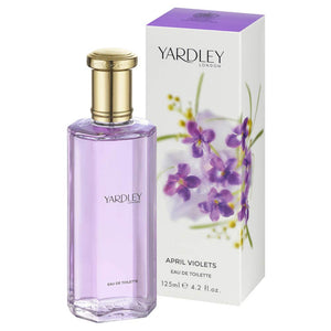 Yardley of London April Violets Eau De Toilette 4.2 oz