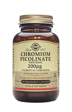 Chromium Picolinate 200 mcg, 90 Vegetable Capsules