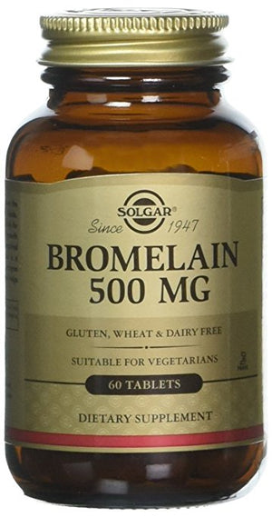 Bromelain 500 mg, 60 Tablets
