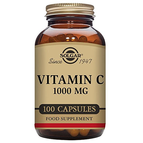 Vitamin C 1000 mg, 100 Vegetable Capsules