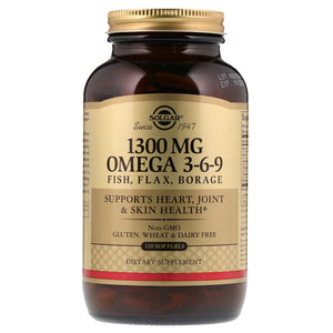 1300 mg Omega 3-6-9 Softgels