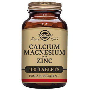 Calcium Magnesium Plus Zinc, 100 Tablets