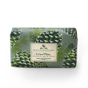 Soap & Paper Factory Roland Pine Shea Butter Soap