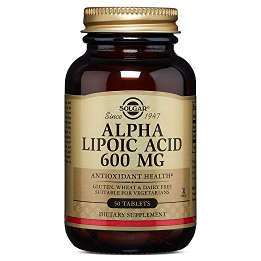 Alpha Lipoic Acid 600 mg, 50 Tablets