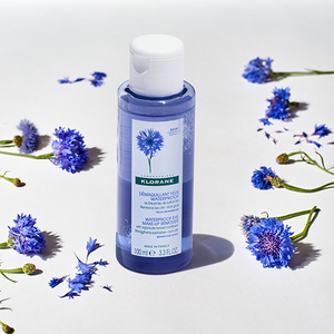 Klorane Waterproof Eye Make-Up Remover with Organically Farmed Cornflower