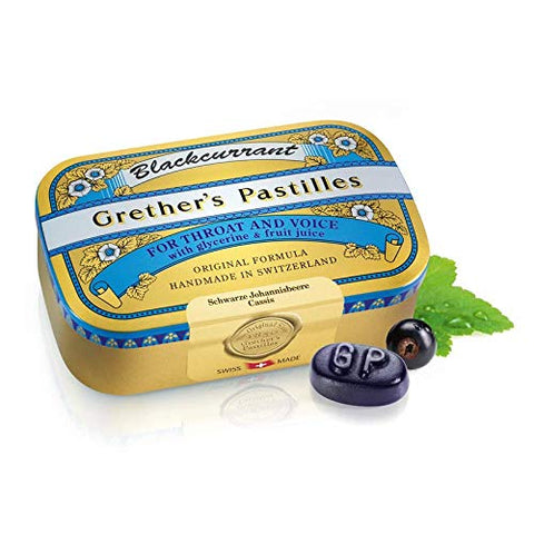 Grether's Pastilles Blackcurrant Pastilles SUGAR FREE