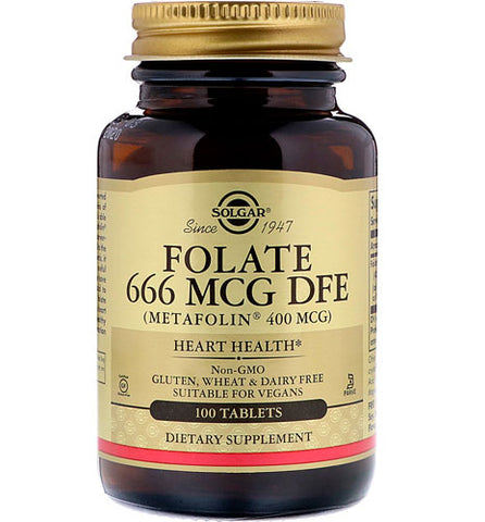 Folate 666 MCG DFE Description