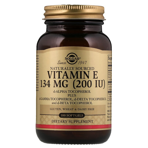 Vitamin E 134 MG 200 IU Vegetarian Softgels