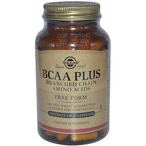 BCAA (Branched Chain Amino Acids) 100 Vegetable Capsules