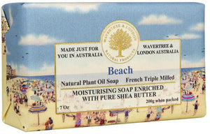 Wavertree & London Beach soap bar 8 Oz