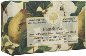 Wavertree & London French Pear soap bar 8 Oz