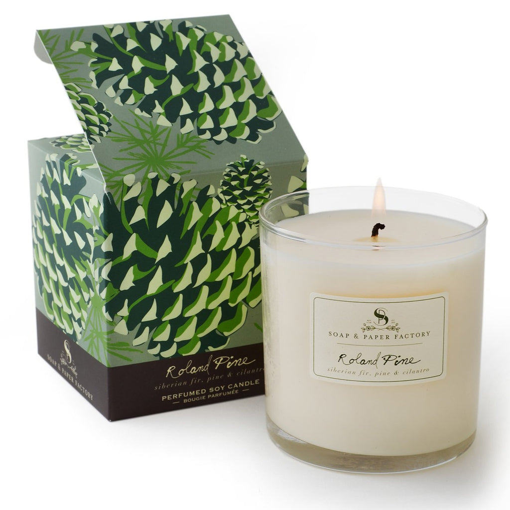 Soap & Paper Factory Roland Pine Large Soy Candle