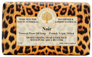 Wavertree & London Noir soap bar 8 Oz